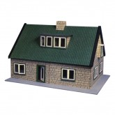 1509p House Plan Hobby's Chalet-type Doll's House