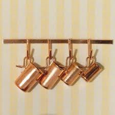 Copper Measuring Jugs 4111.