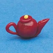 4166 Teapot Red