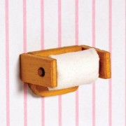 4318117102 toilet roll holder wooden