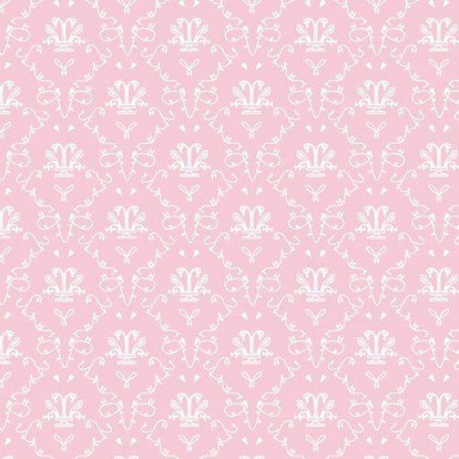 Rose French Toile Wallpaper 8264