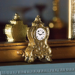 5476 Brass Mantle Clock