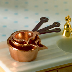 Copper Pot Set