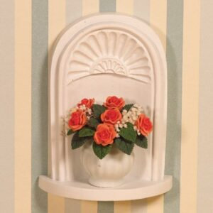 Wall Alcove with Shell Carving