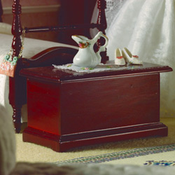 Classic linen chest or toy box