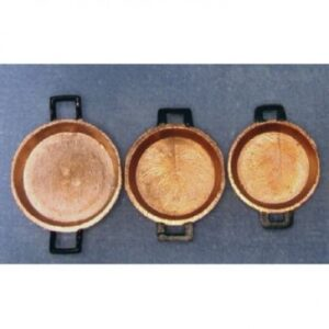 copper frying pans