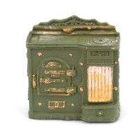 1:24 Scale Resin Stove Range24F025