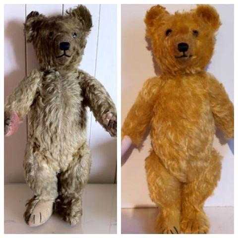 Before & After Teddy