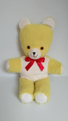 Yellow & White teddy