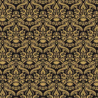 5131 Black Damask Wallpaper