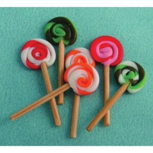 Lollipops, 6 pieces D1191
