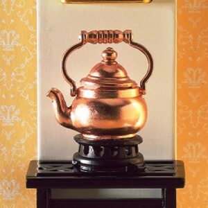 3542 Copper Kettle on Trivet