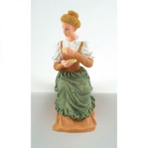 Sitting Lady Doll dp203