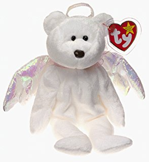 9bb13f724c4 Ty Beanie Babies - Halo the Angel Bear - Doll Store