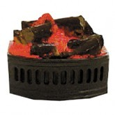 fp005 Fire Grate Inset LOGS