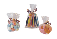 Sweets cakes biscuts glass jarBags of Sweets