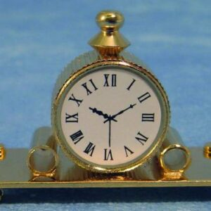 D332 Mantle Clock Brass