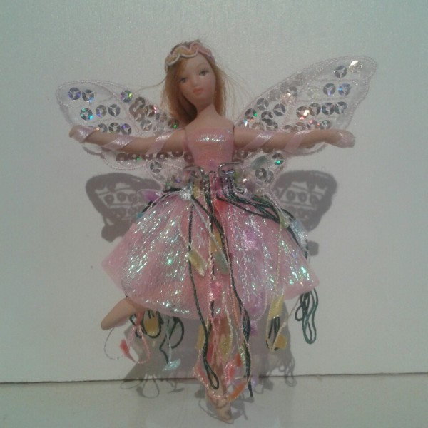 Fairy Doll Porcelain Pink