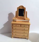 DF1393 Country Pine Dressing Table