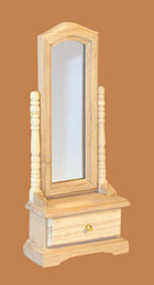 Cheval Mirror pine