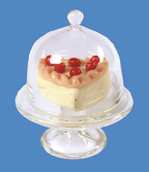 Sweets cakes biscuits glass jar EM5541