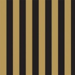 Gold & Black Stripe Wallpaper 4501