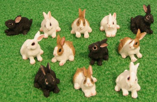 Rabbits Bunnies Bunny DA016
