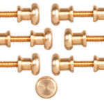 cp5012 door knob Brass