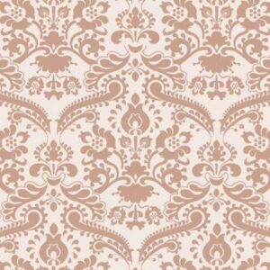 Rose Damask Wallpaper