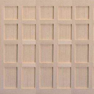 Tudor-Style Wood Panels, 3 pcs 3017