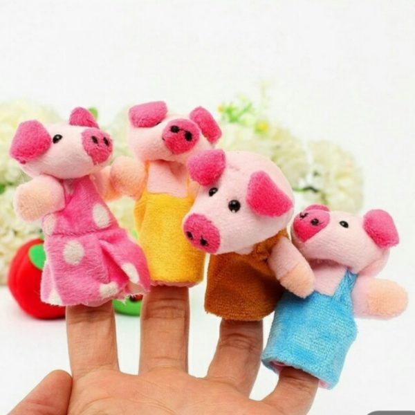 Finger Puppets 3 pigs