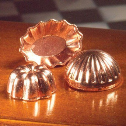 5549 copper Jelly Moulds
