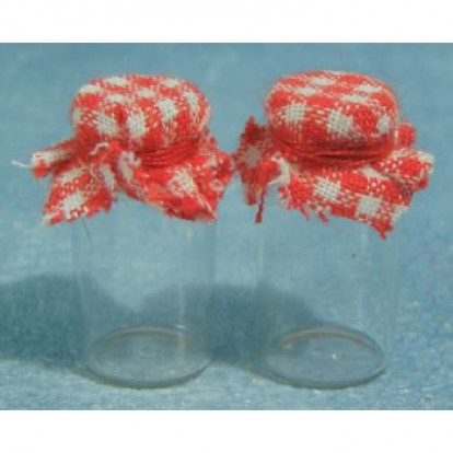Glass' Jam Jars, 2 pack D1585d1585
