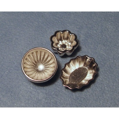 Silver Jelly Moulds D2342